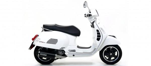 Arrow Urban Aluminium schwarz Piaggio VESPA GTS 300 '17-