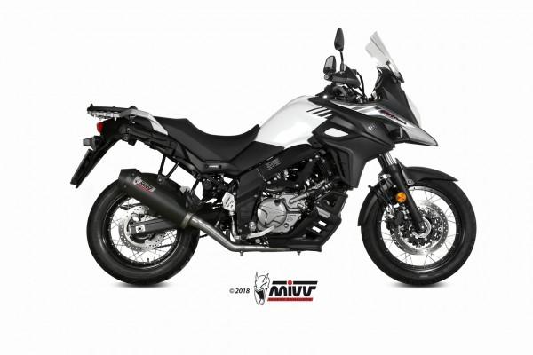 MIVV Oval Carbon SUZUKI DL V-STROM 650 2017 >