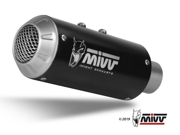 MIVV MK3 Edelstahl schwarz HONDA CB 1000 R 2017 >