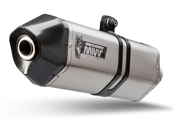 MIVV Speed Edge Edelstahl Suzuki GSX-R 1000 ´17