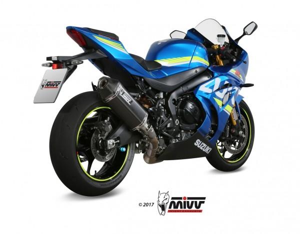MIVV Speed Edge Black Steel Suzuki GSX-R 1000 ´17