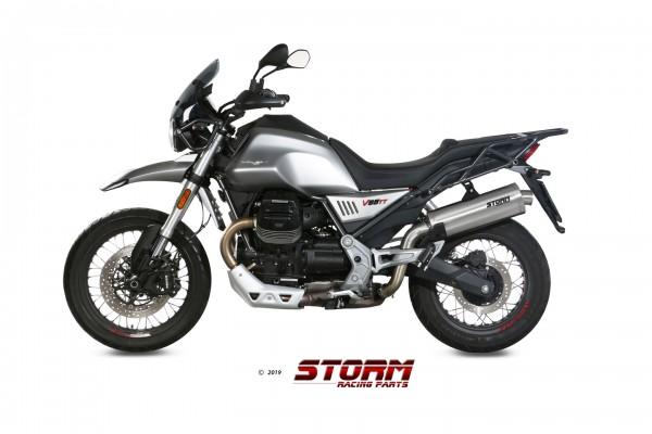 Storm by Mivv BLACK Moto Guzzi V85 TT 19-