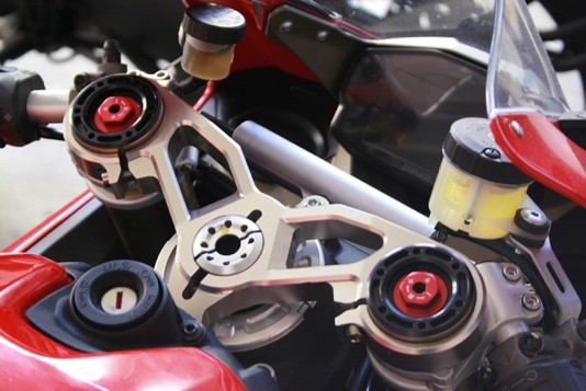 Piastra superiore 1199 Panigale (S) 1199 Panigale upper triple clamp (S), Color: